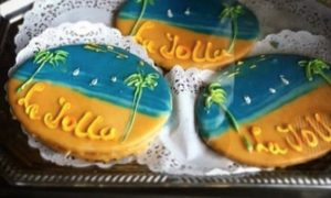 Frosted La Jolla / Beach Theme Cookies
